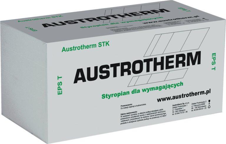 Gama wyrobów styropianowych marki Austrotherm